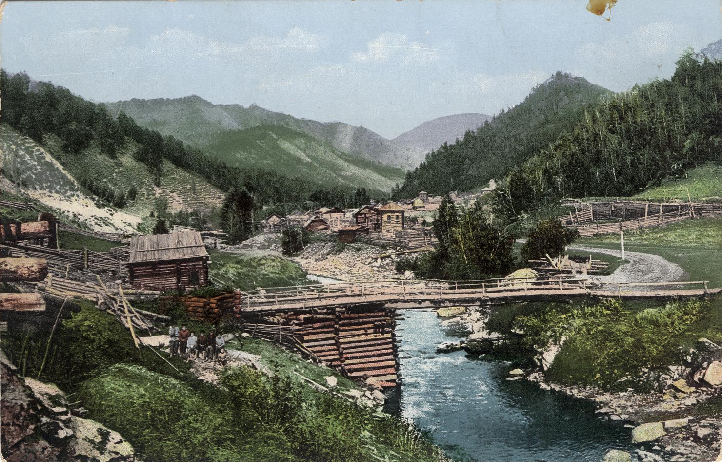 Село Элекмонар. Долина среднего течения реки Катунь