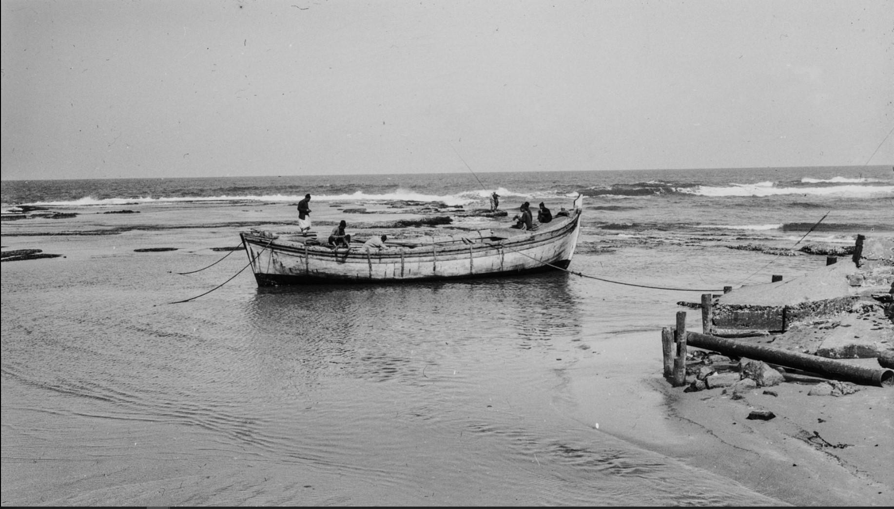Яффа. Рыбацкая лодка