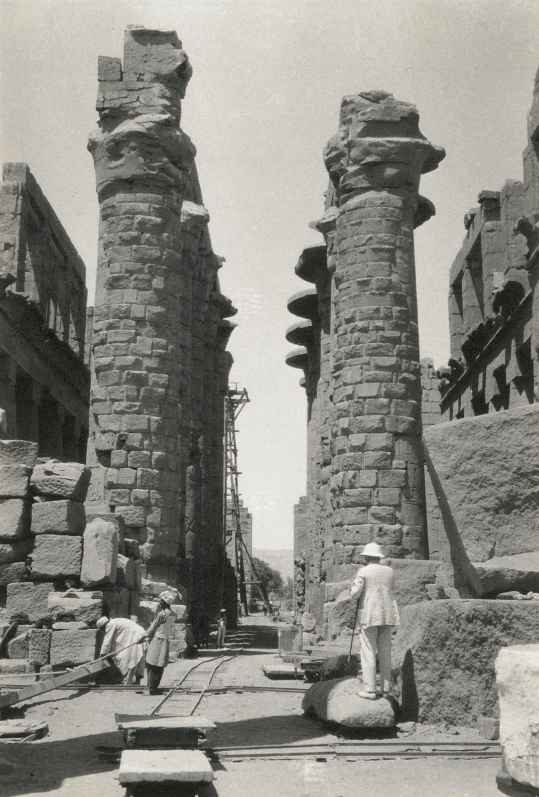 Карнак. Храм Амона. Большой Колонный зал с юга