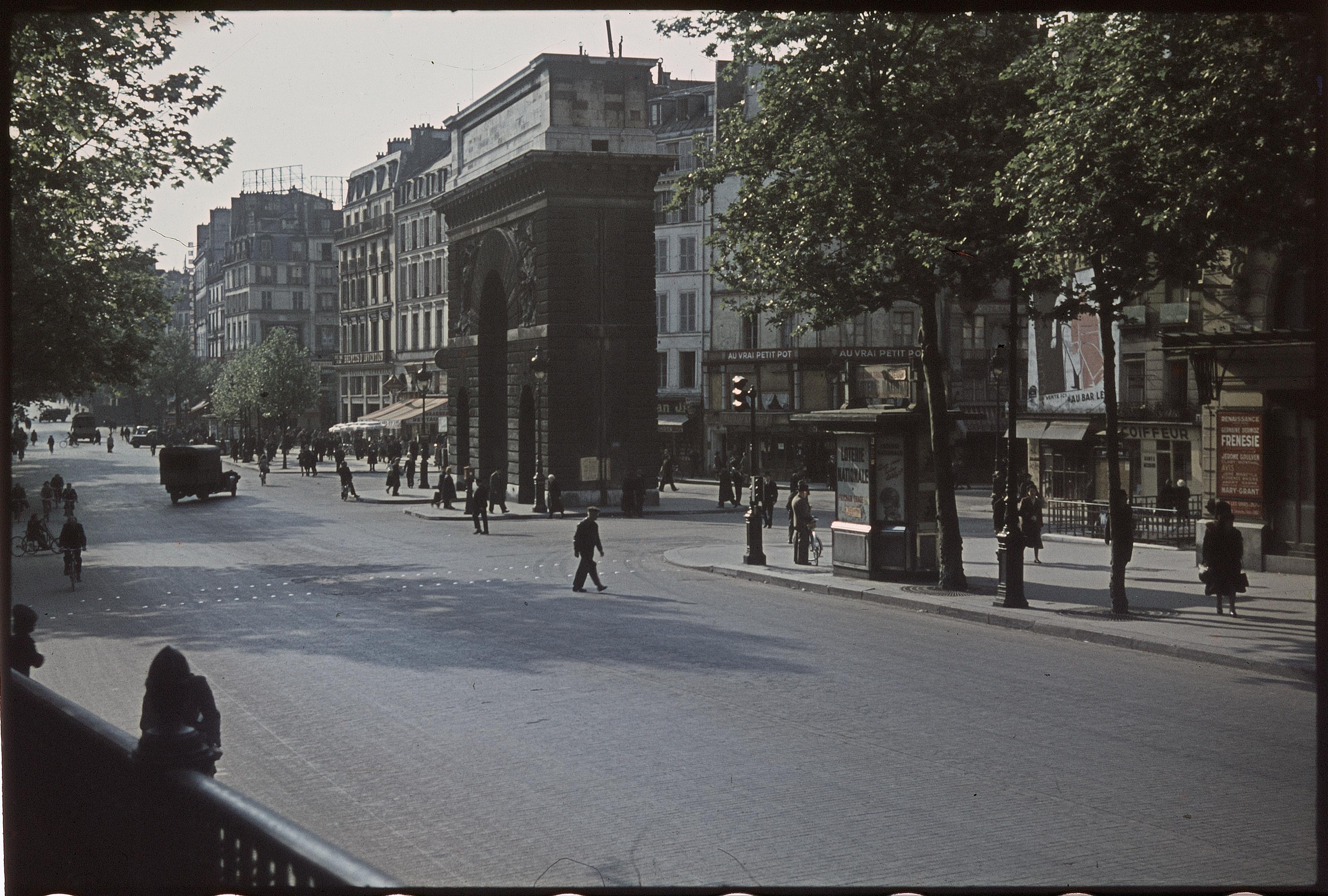 Бульвар и Ворота Сен-Дени