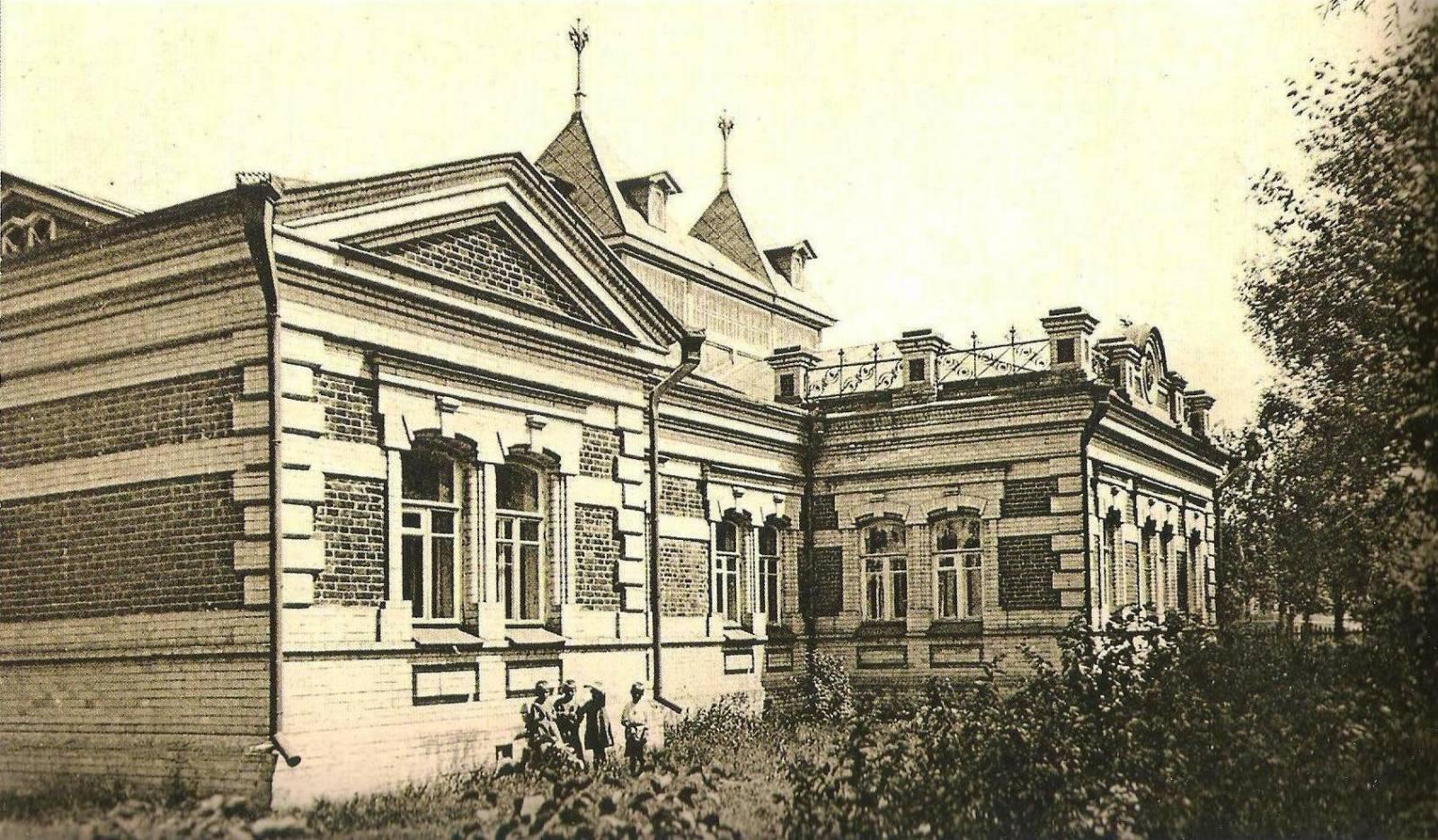 Здание сиротского приюта