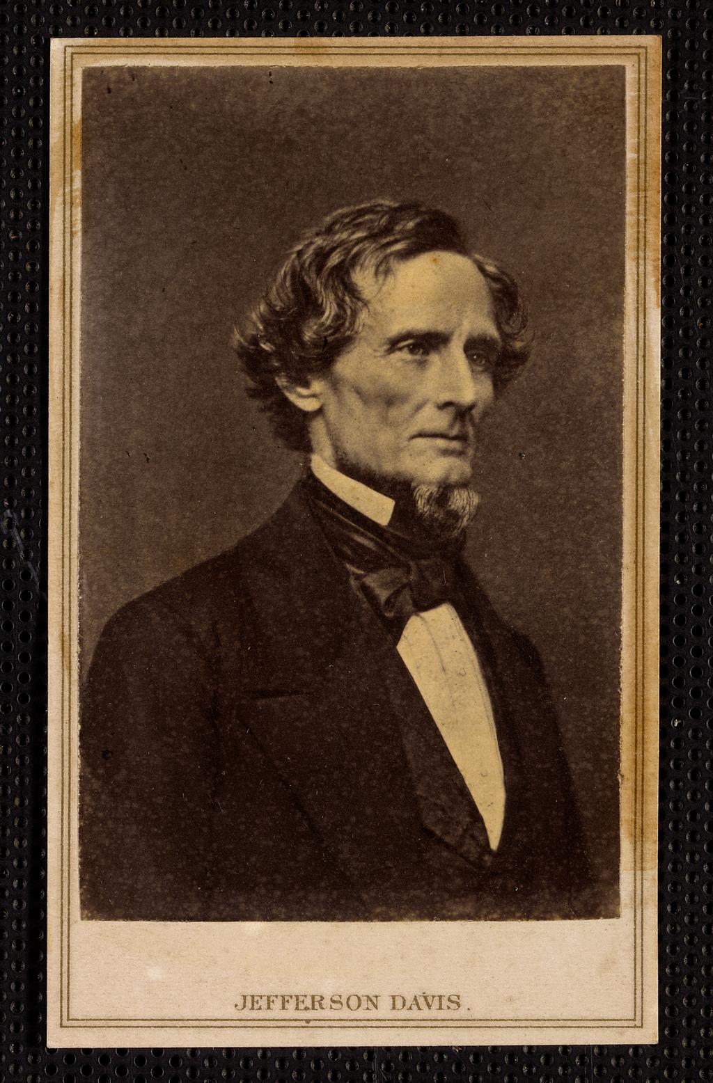 Президент Конфедеративных Штатов Америки Джефферсон Дэвис