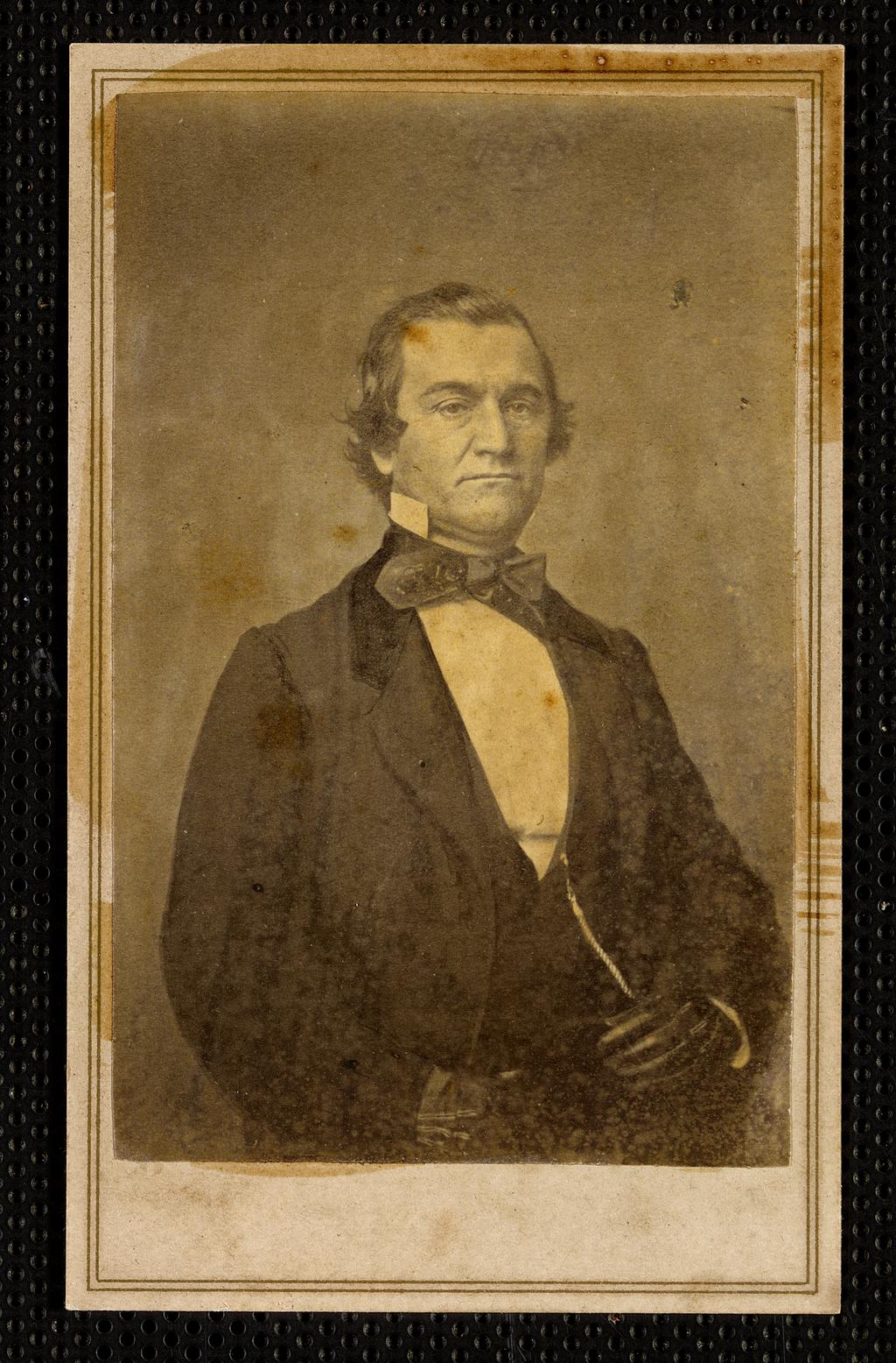 Сенатор от штата Алабама Уильям Лаундс Янси, Конфедеративные Штаты Америки