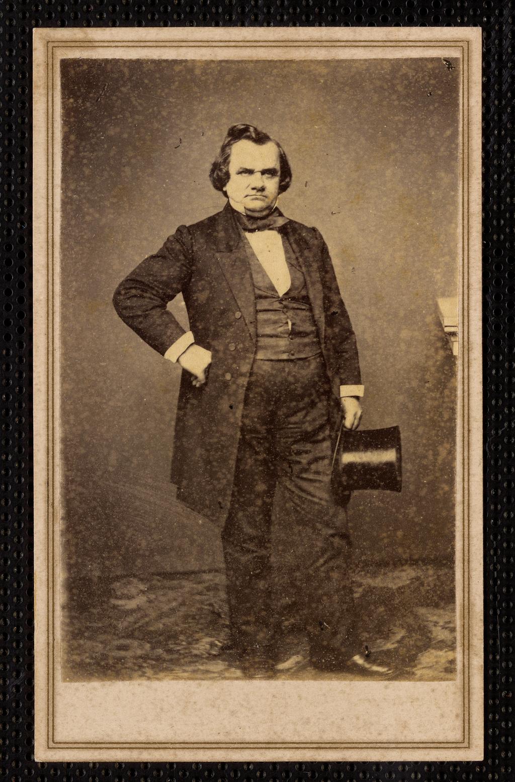 Сенатор от штата Иллинойс Стивен А. Дуглас