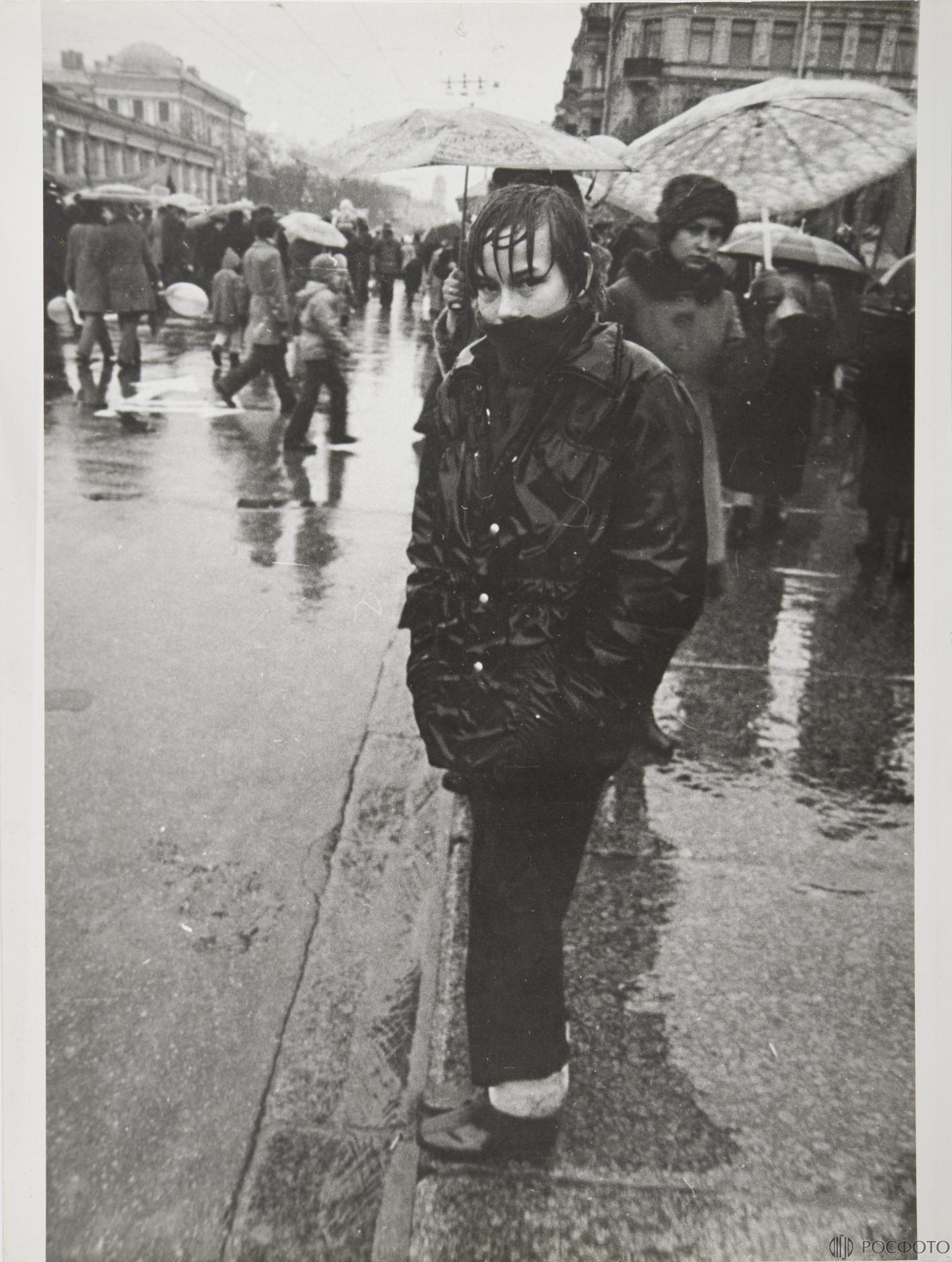 1970-е. Из цикла «Демонстрация».