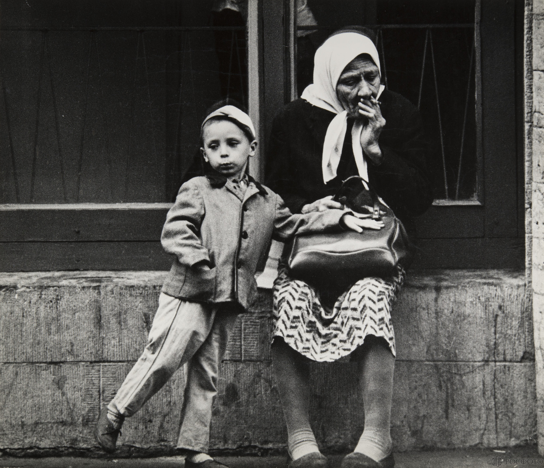 1972. Бабушка и внук