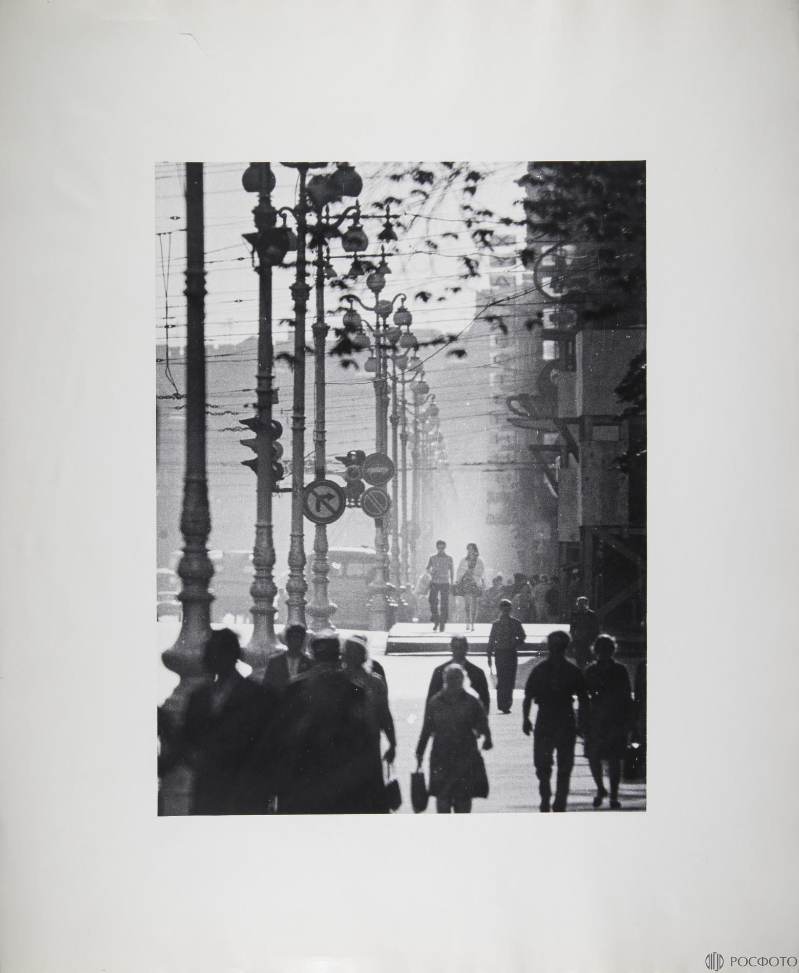 1973. Невский проспект. Двое