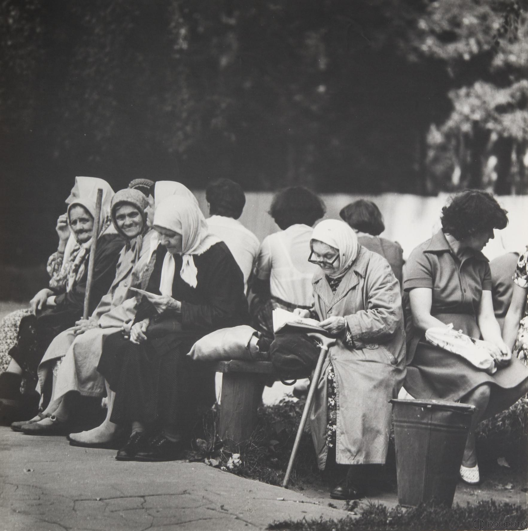 1976. Город. Новодевичий монастырь