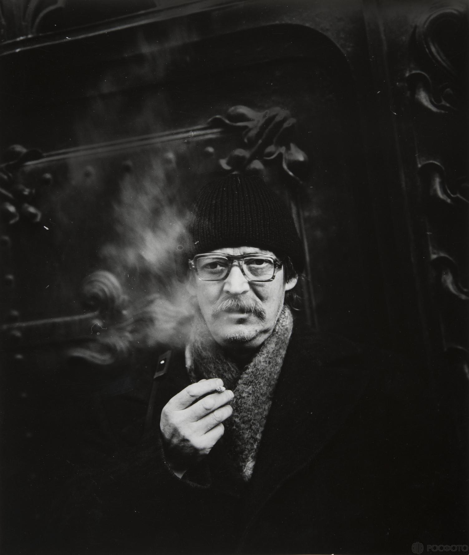 1985. Портрет Б.Михалевкина.