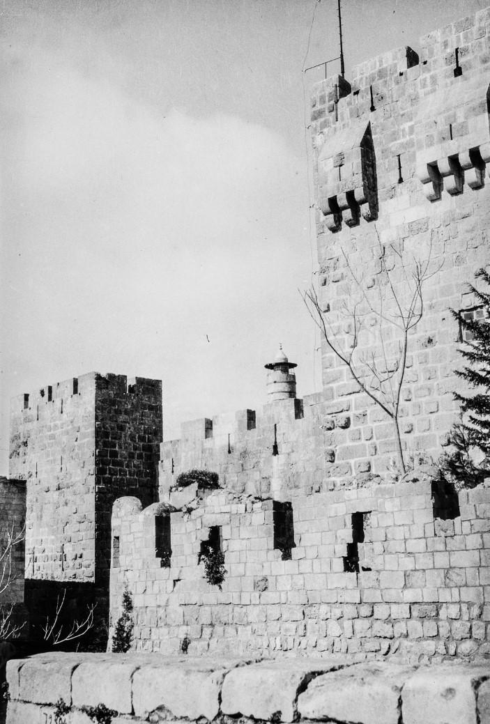 Иерусалим. Наружная стена башни Давида