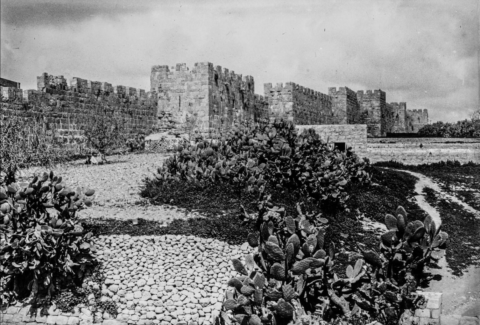 Иерусалим. Стены Старого города