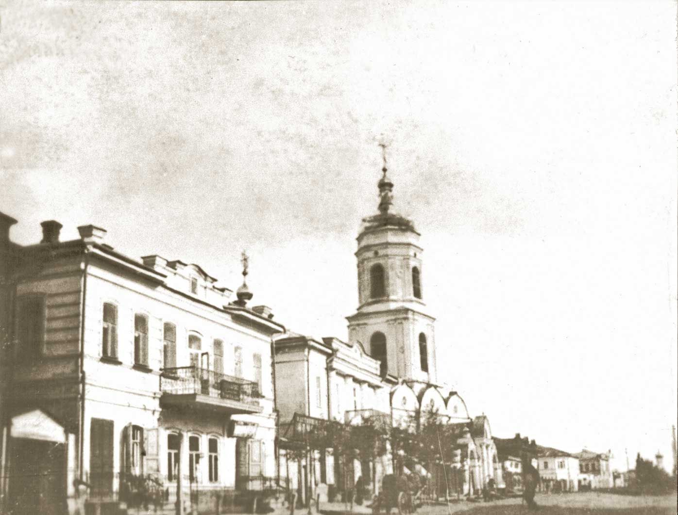 Козельская улица. Казанская церковь