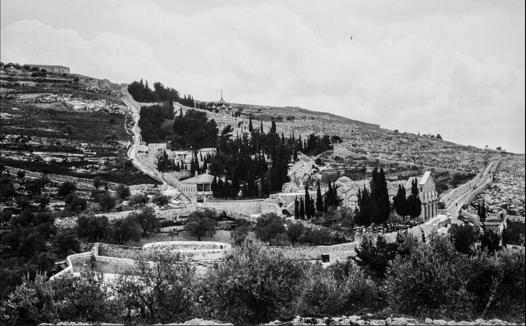 Иерусалим. Вид с Храмовой горы.