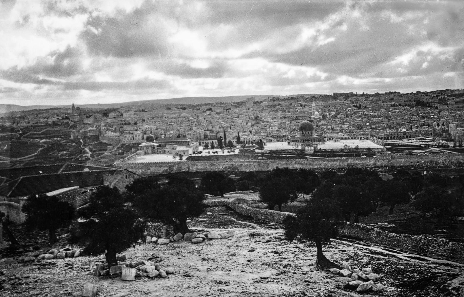 Иерусалим. Вид с Масличной горы на город