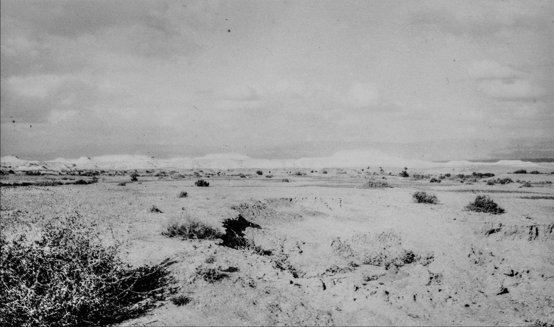 Пейзаж в районе Мертвого моря