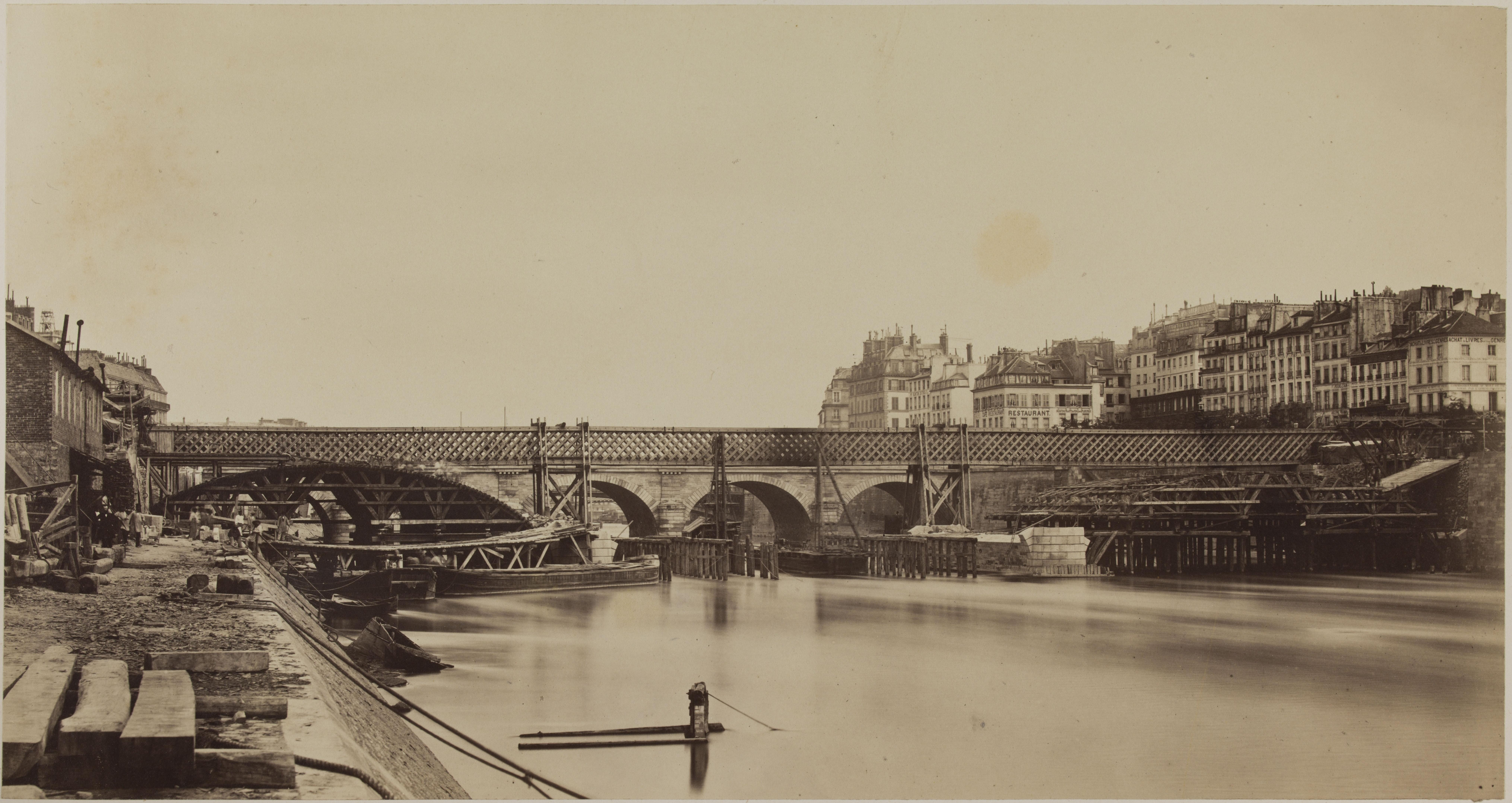 05. Подъем арок моста