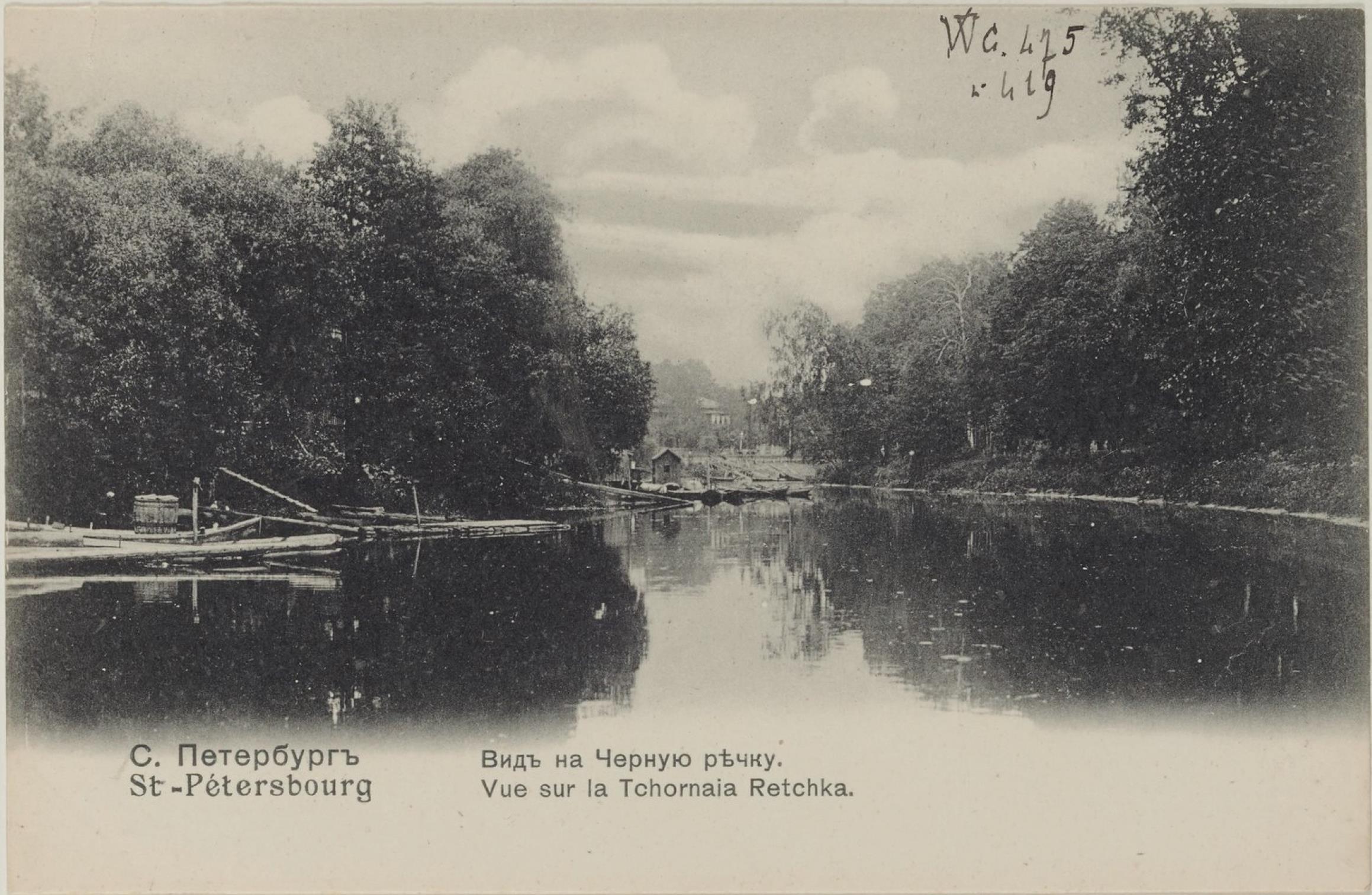 Вид на Чёрную речку