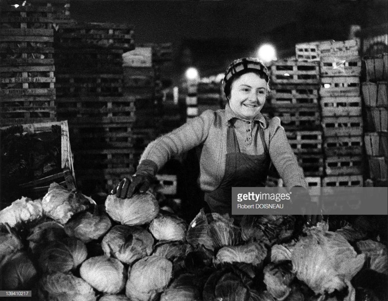 1967. Торговка капустой в Ле-Аль