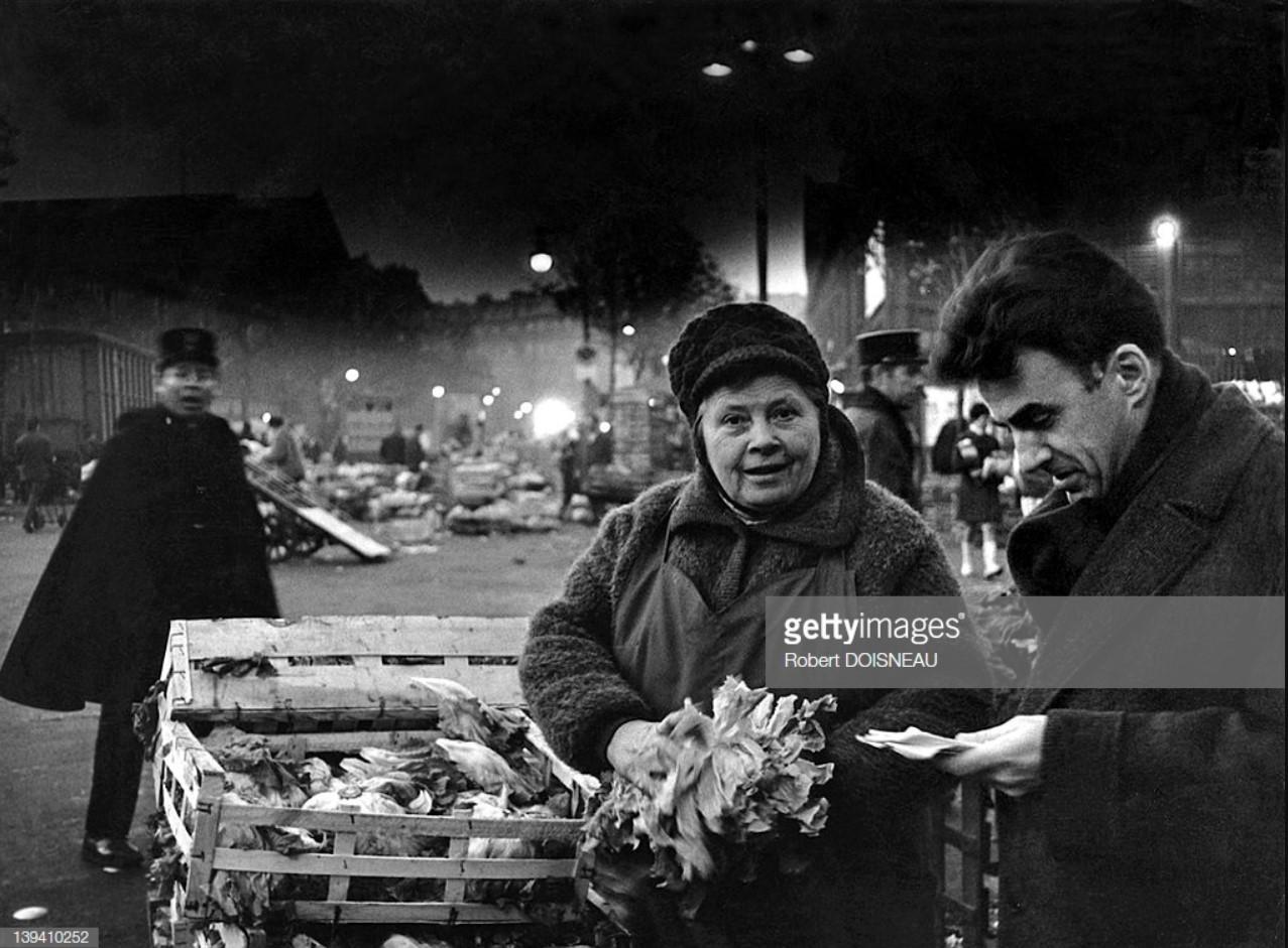 1967. Торговка салатом в Ле-Аль