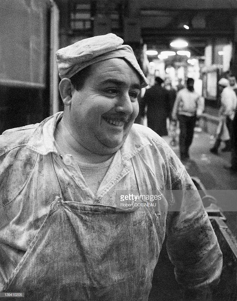 1968. Рыночный грузчик в Ле-Аль