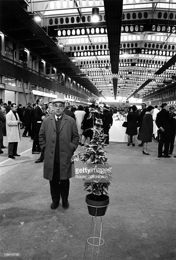 1969. Новый оптовый рынок в Париже. Открытие.