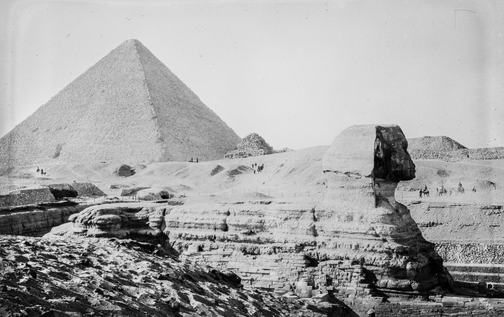 04. Сфинкс Гизы и пирамида Хеопса