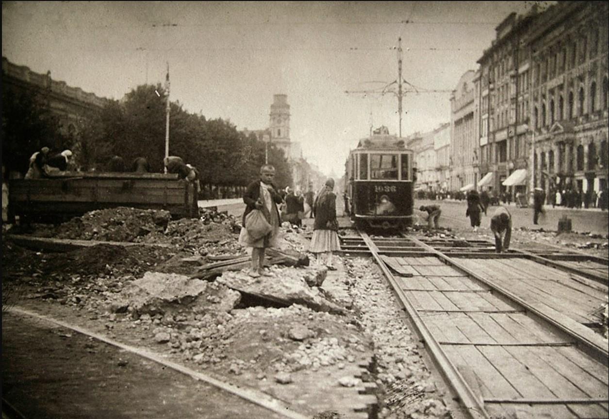 Капитальный ремонт узла N13 угол пр. 25-го Октября и ул. 3-го Июля