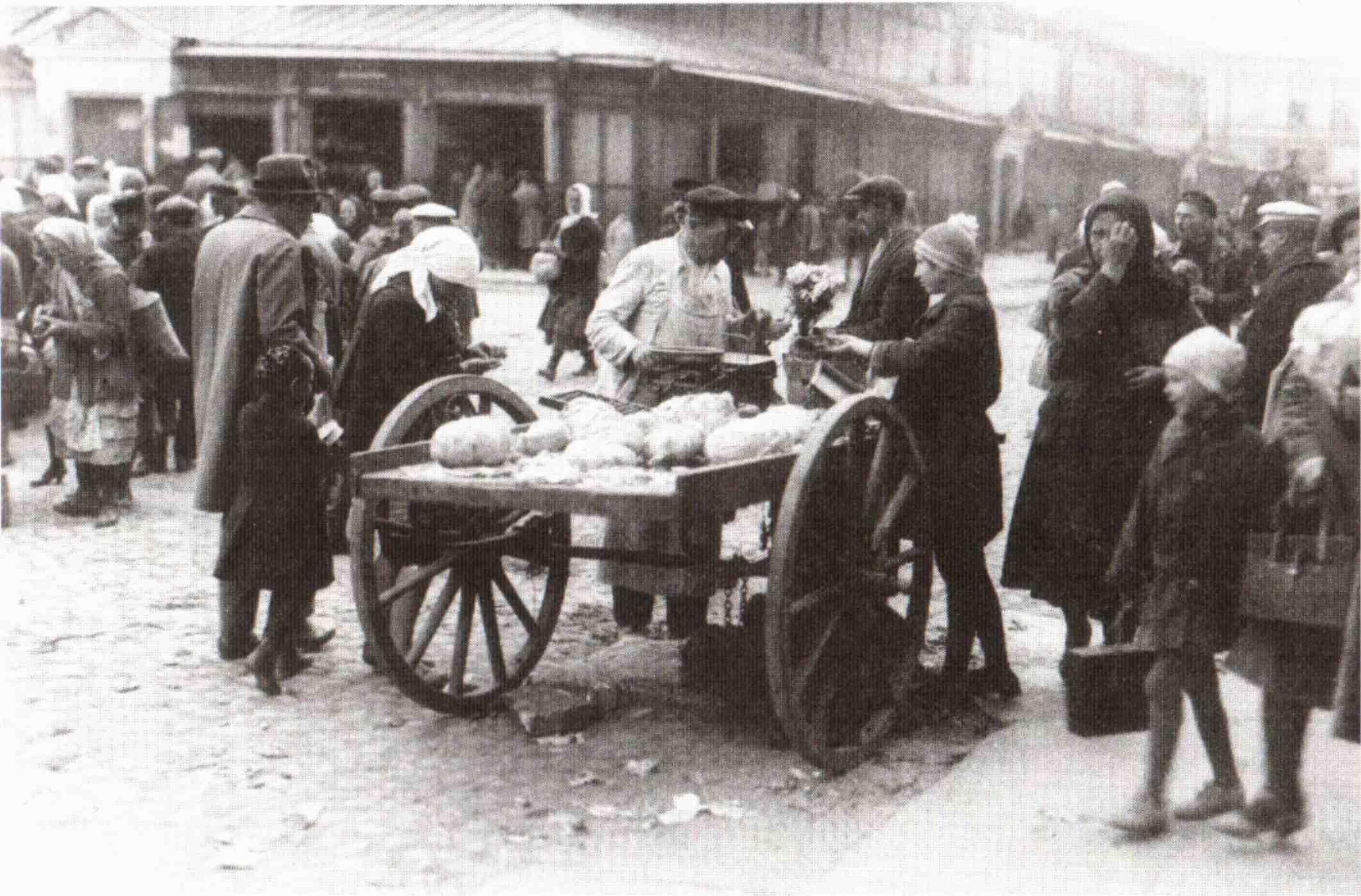 Уличная торговля на Сенной