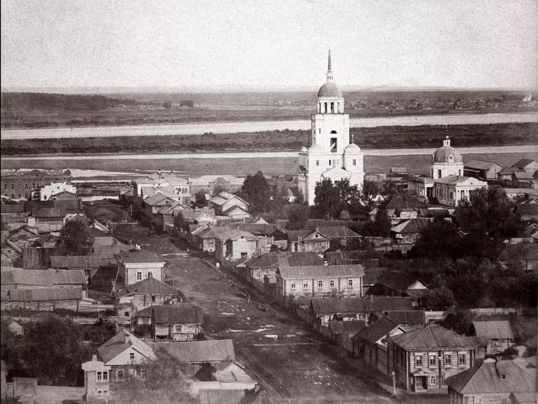 Покровский храм и колокольня с храмом Петра и Павла