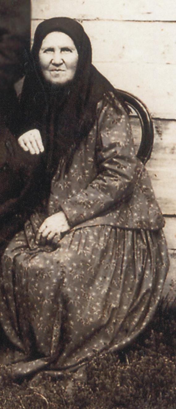 Зиновия Степановна Смирнова, старообрядка
