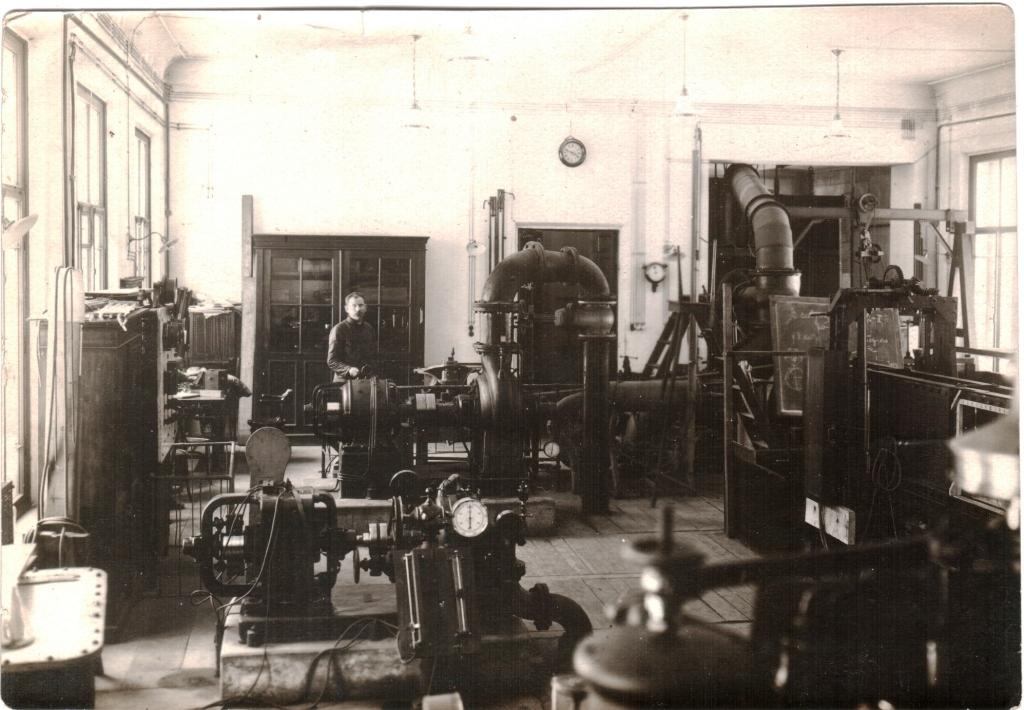 ЛПИ. Механический факультет. Лаборатория гидротехники