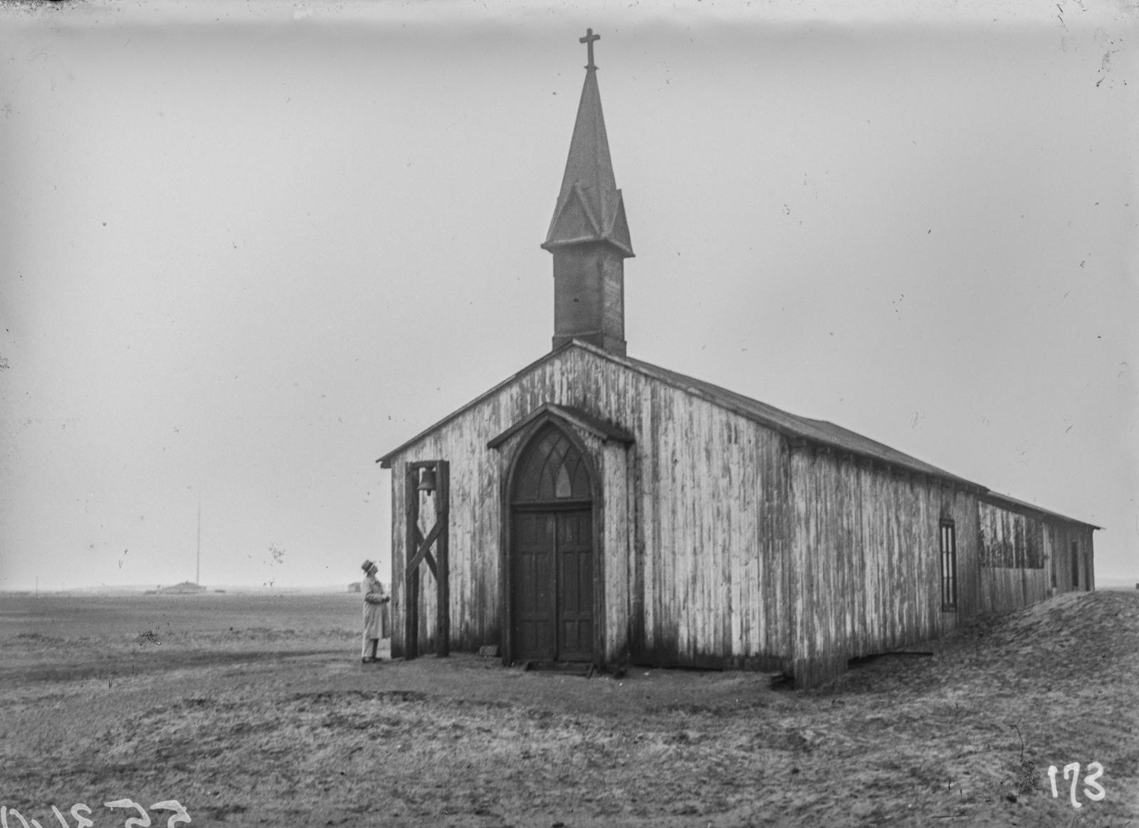 Южно-Африканский Союз. Уолфиш-Бей. Церковь