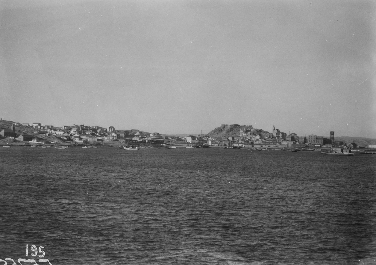 Южно-Африканский Союз. Кейптаун. Вид на гавань