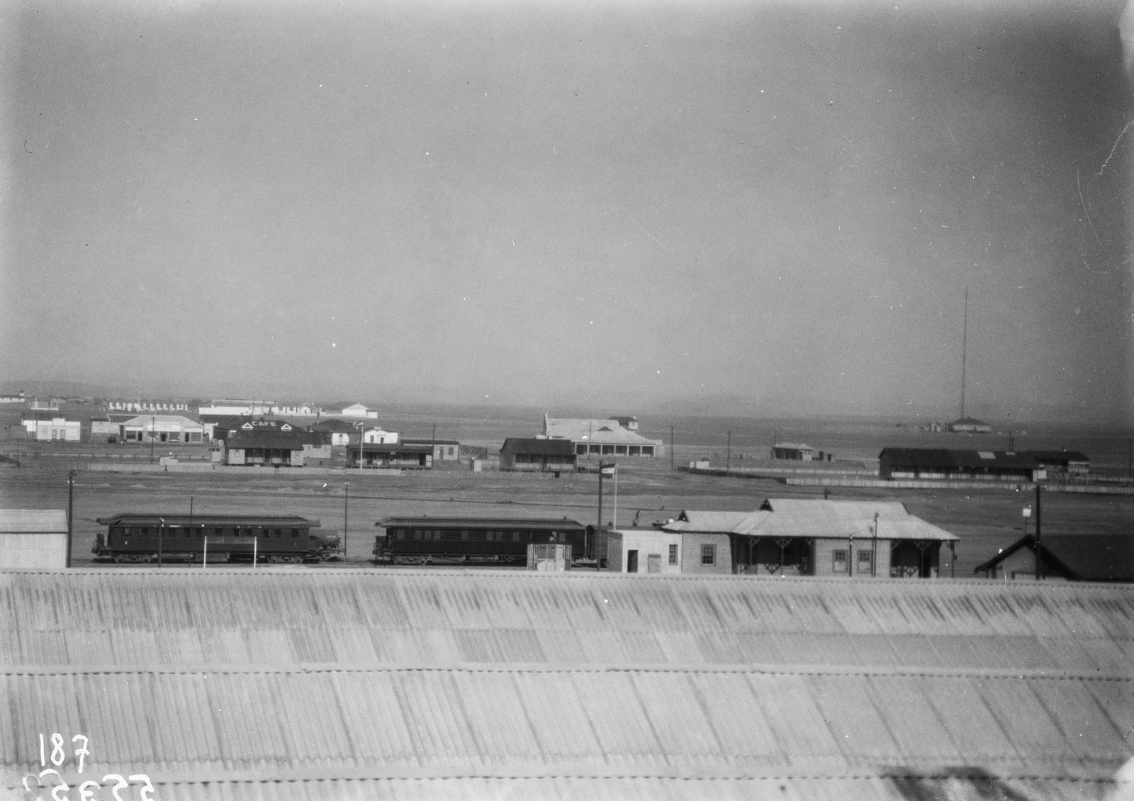 Южно-Африканский Союз. Кейптаун. Вид на гавань и железную дорогу