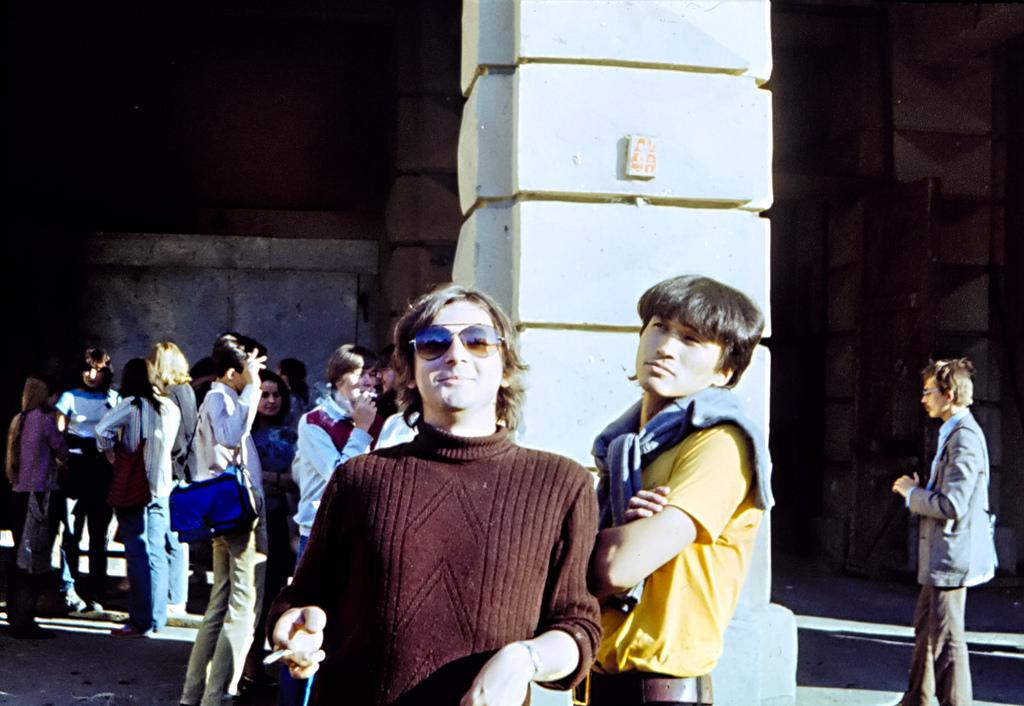 Майк и Цой. 1985