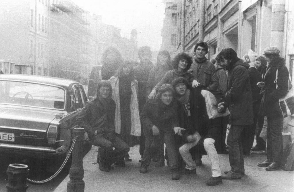 Рядом с рок-клубом. 03.04.1982