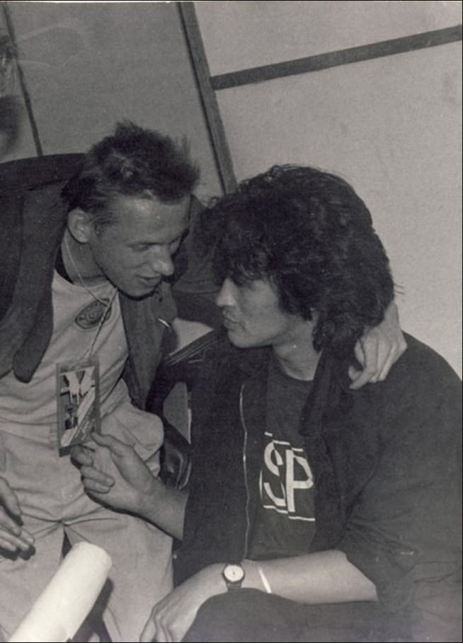 Цой и Гаркуша. 1987