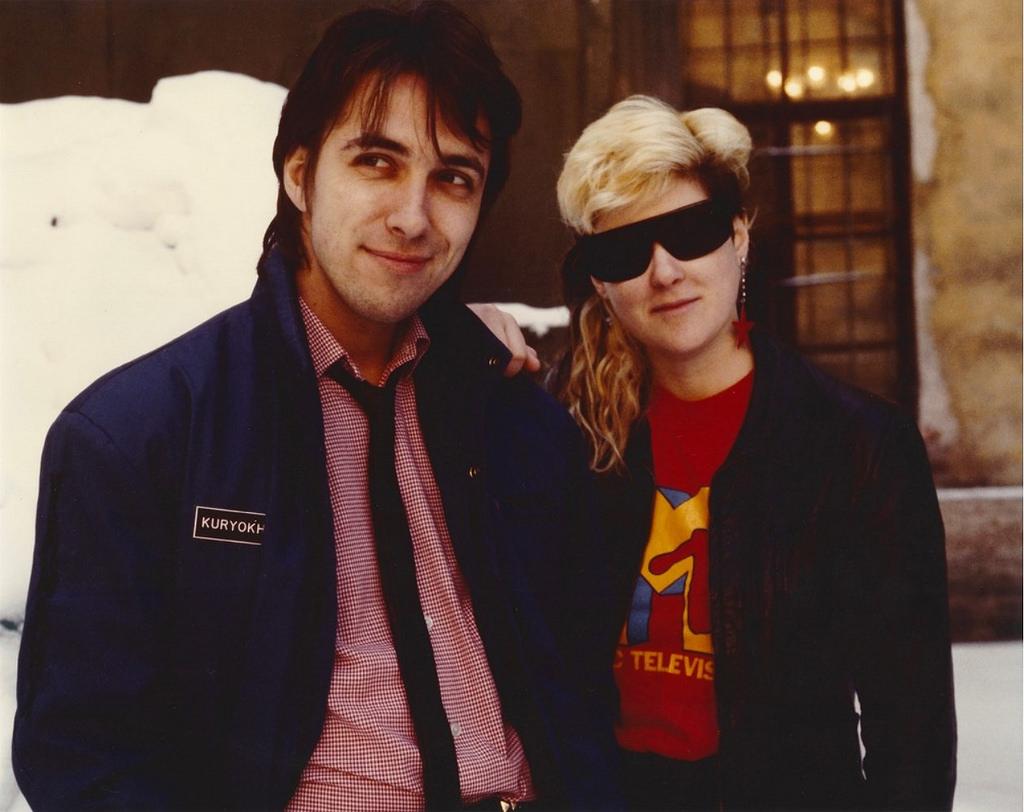 Сергей Курёхин & Джоанна Стингрей. 1985