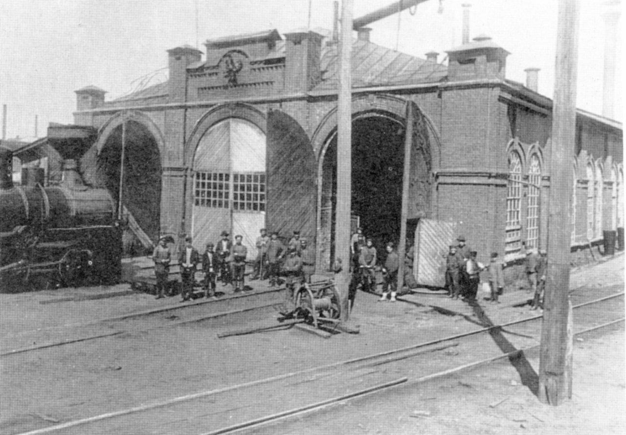 Воткинский завод. Паровозостроительный цех