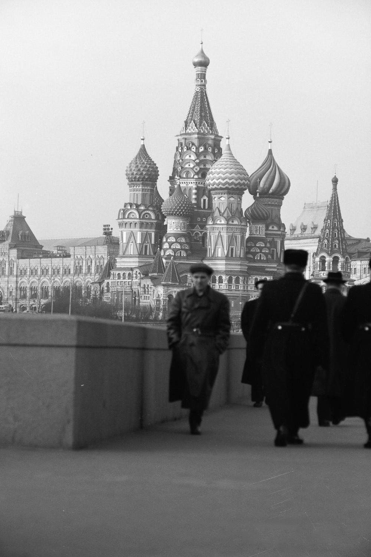 Вид на Храм Василия Блаженного с Большого Москворецкого моста