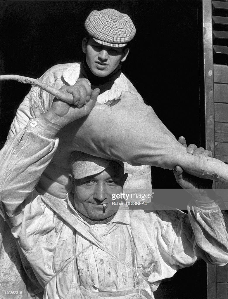 1967. Грузчики в Ле-Аль