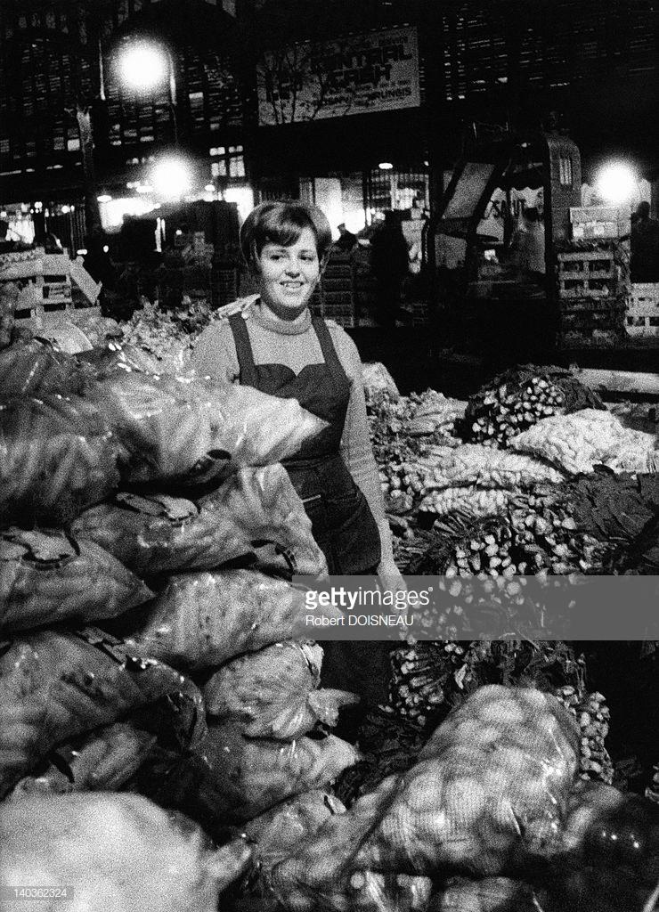 1967. Зеленщица в Ле-Аль
