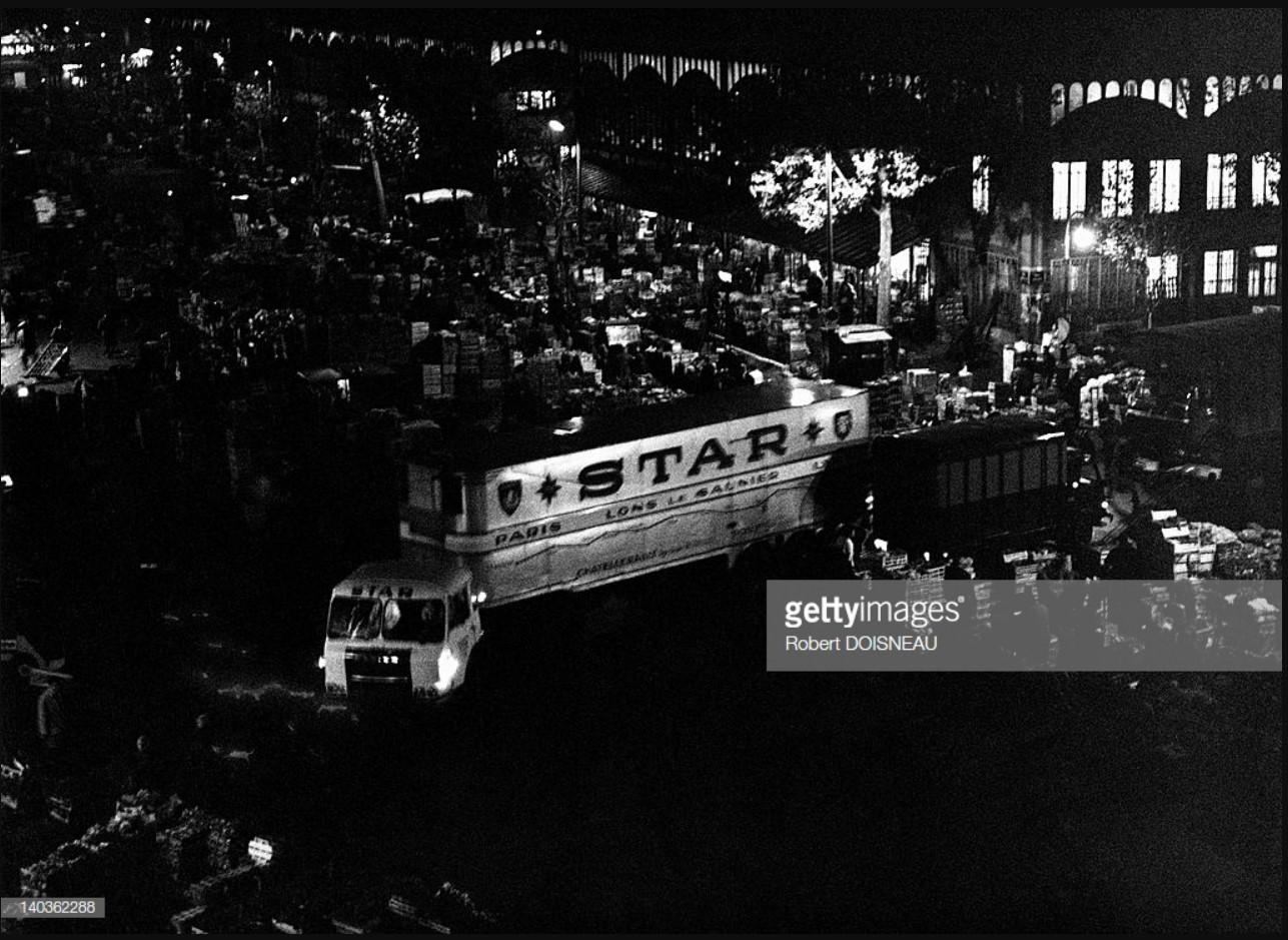 1967. Ле-Аль ночью