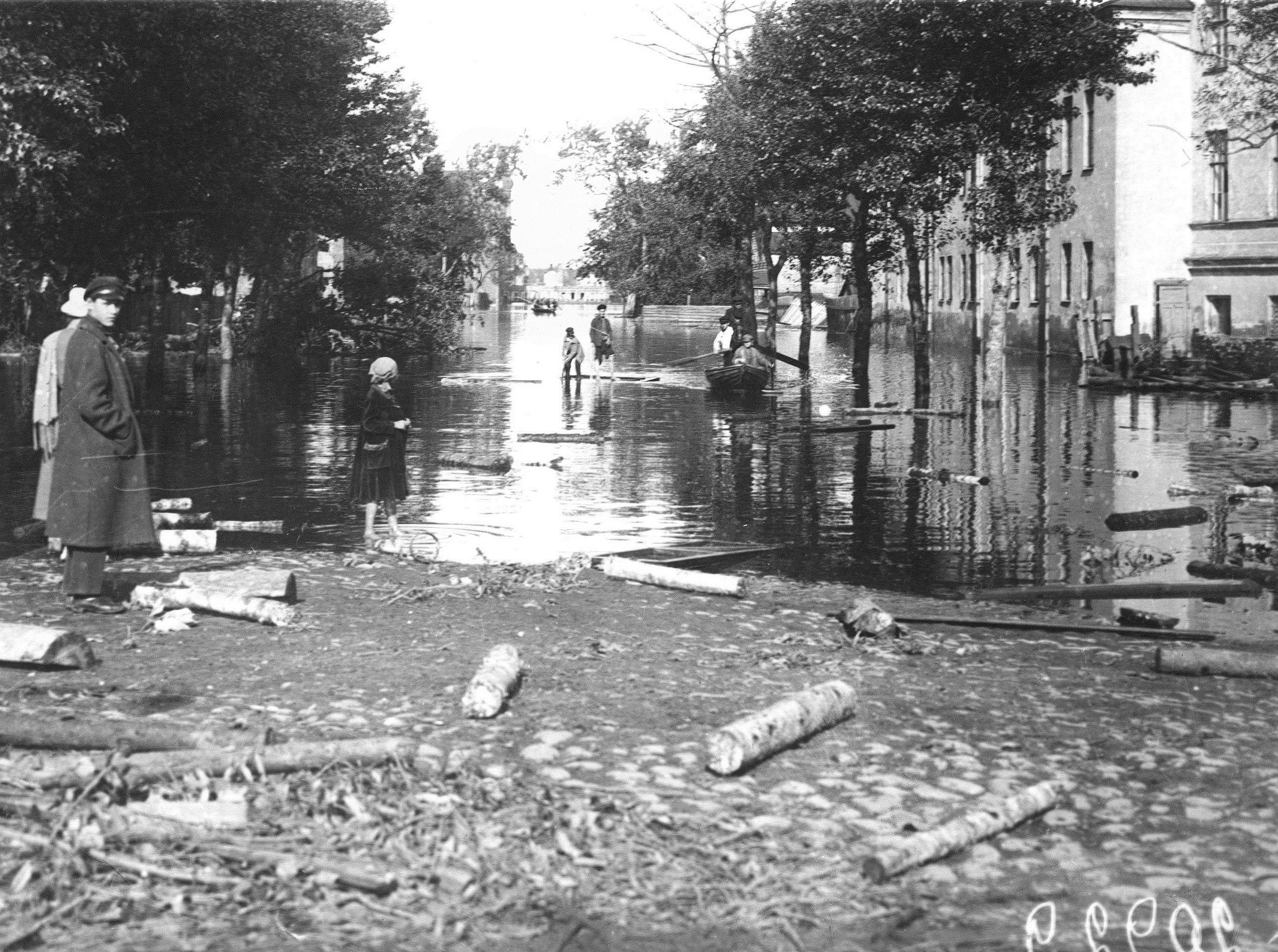 Наводнение. Детская улица В.О.