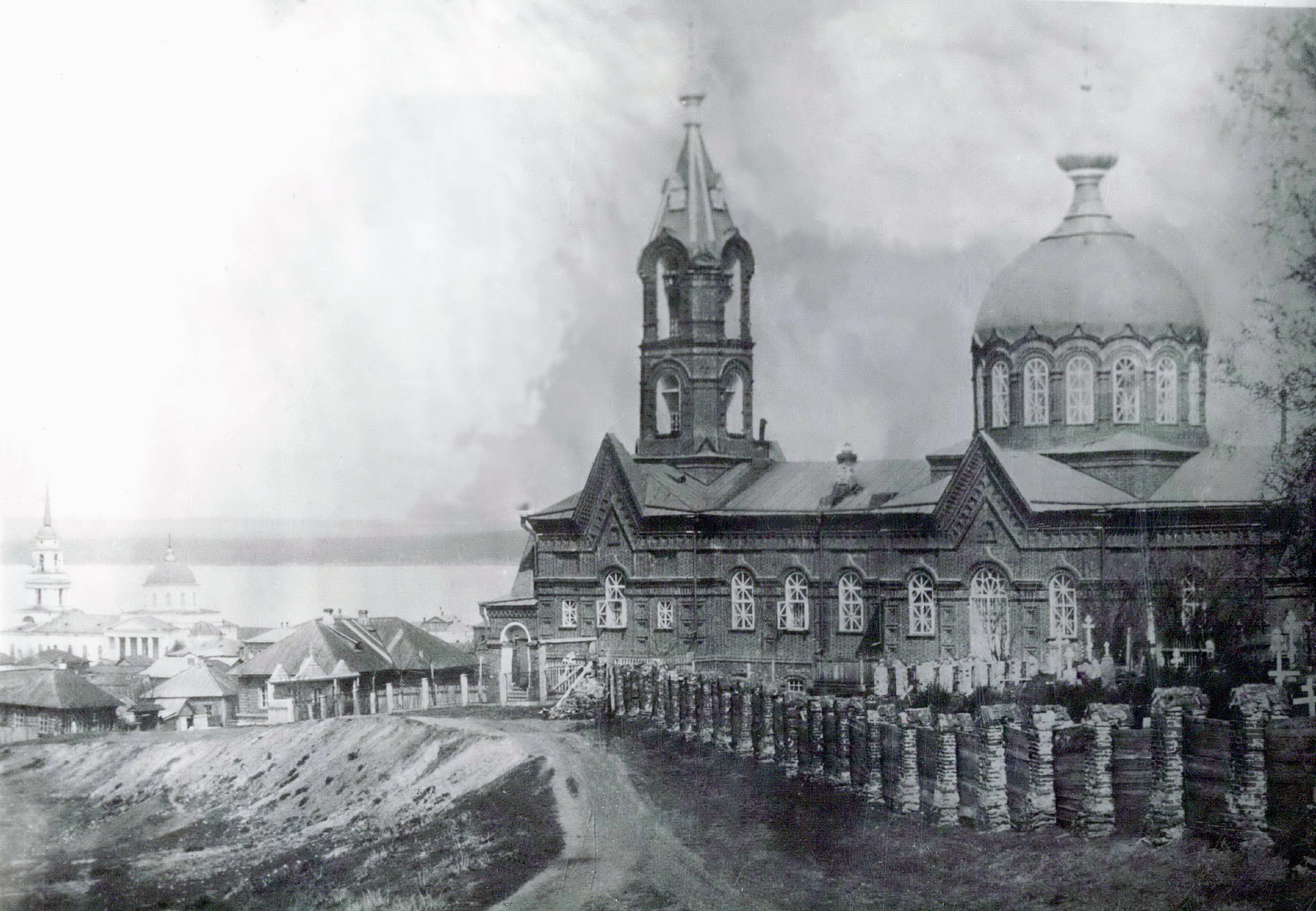 Церковь Преображения Господня на Нагорном кладбище