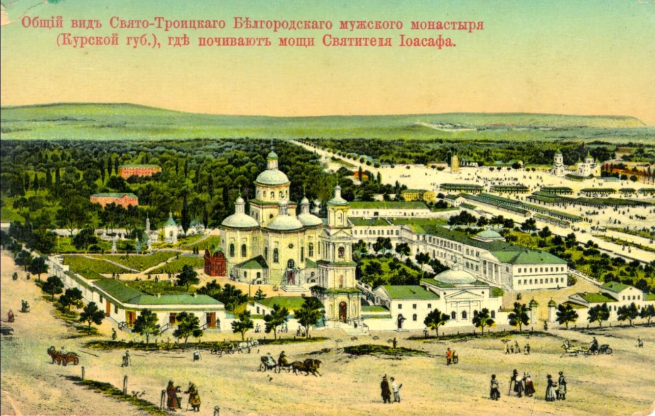 Свято-Троицкий мужской монастырь. Общий вид.