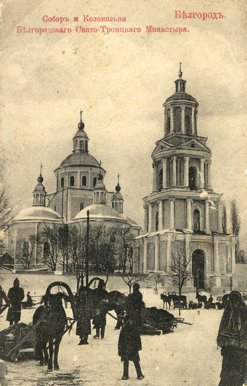Свято-Троицкий мужской монастырь. Собор и Колокольня