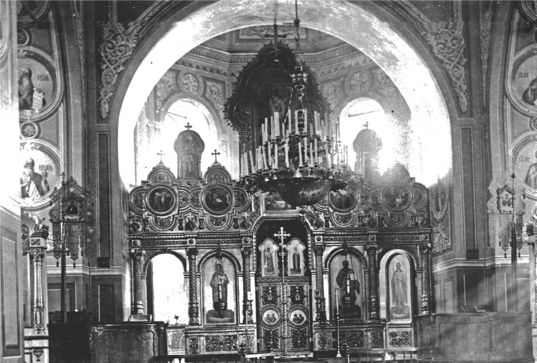 Свято-Троицкий собор. Интерьер