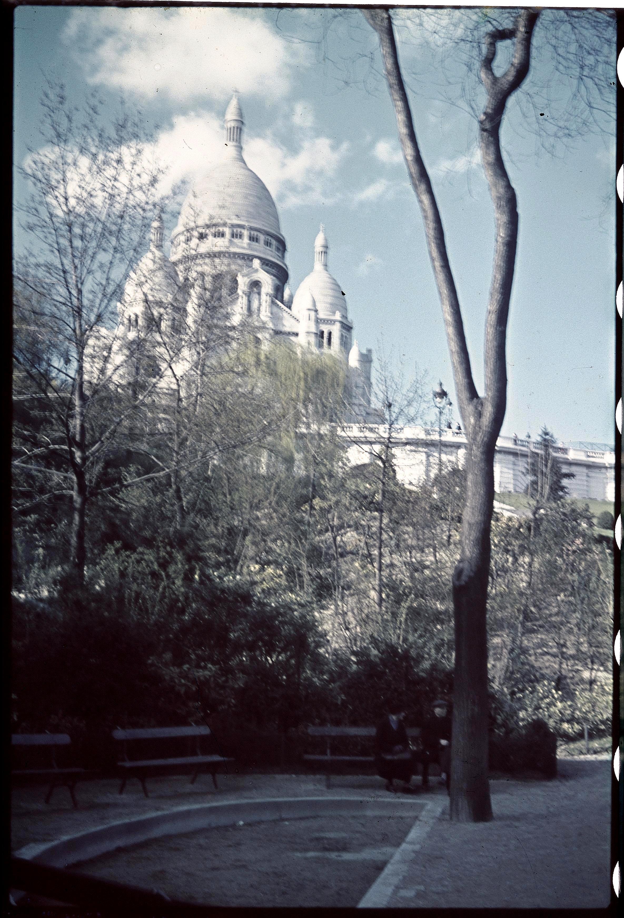 Монмартр. Базилика Сакре-Кёр