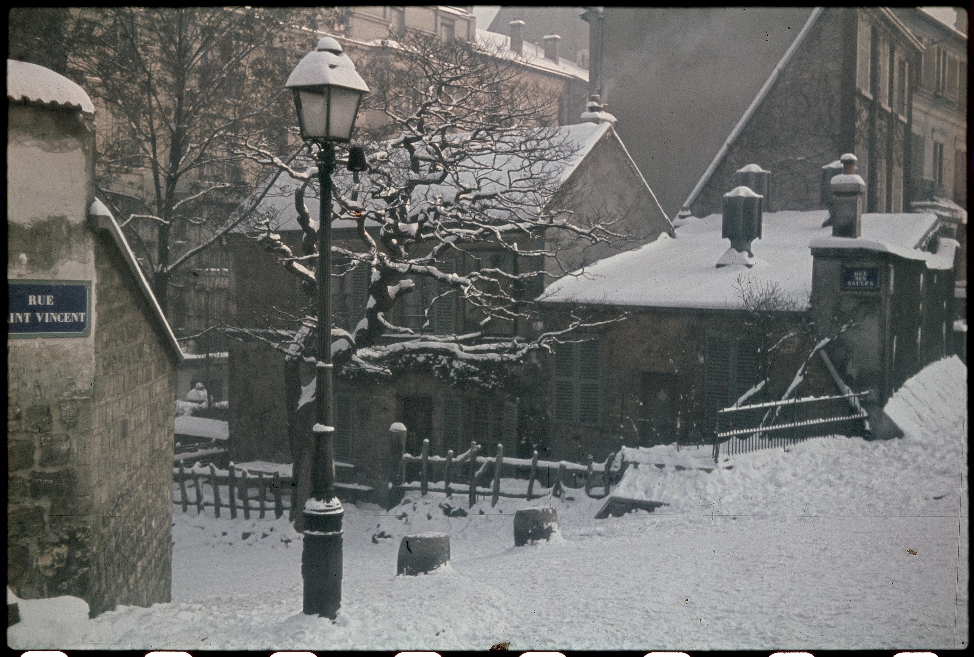 Монмартр. Улица Сен-Венсан